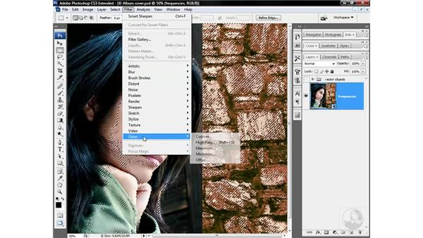 Sharpening for multiple frequencies: Photoshop CS3 Sharpening Images