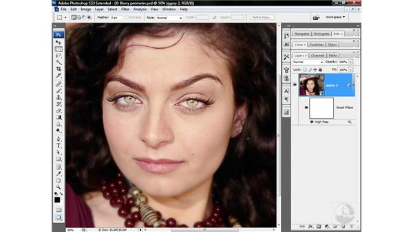 Sharpening eyes and other details: Photoshop CS3 Sharpening Images