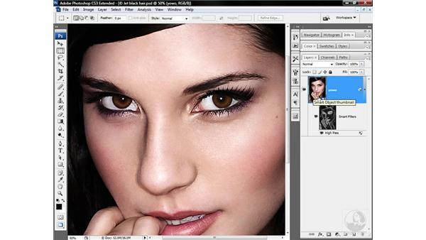 Nesting a Smart Sharpen effect: Photoshop CS3 Sharpening Images