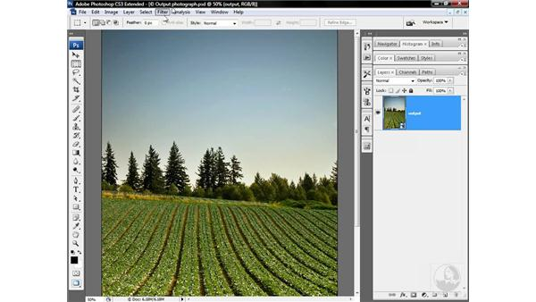 Sharpening for commercial reproduction: Photoshop CS3 Sharpening Images
