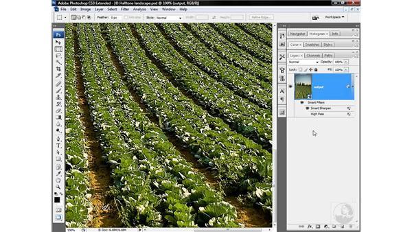 Sharpening for inkjet output: Photoshop CS3 Sharpening Images