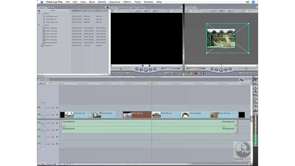 Animating photos, filters, and mattes: Final Cut Pro 6 Workflow