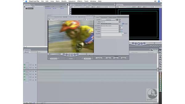 Logging, capturing, and batch capturing: Final Cut Pro 6 Workflow