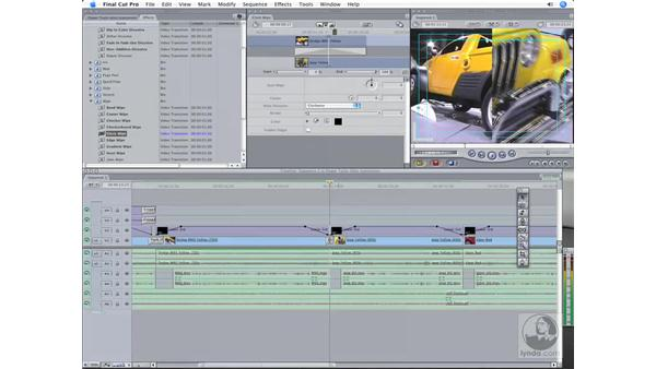 Transitions and filters: Final Cut Pro 6 Workflow