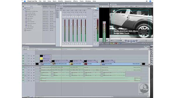 The Audio Mixer tool: Final Cut Pro 6 Workflow
