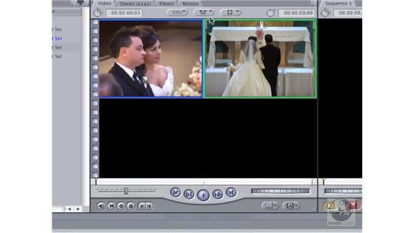 Multi-camera editing: Final Cut Pro 6 Workflow