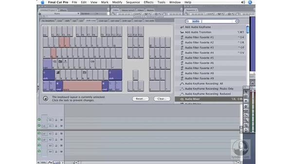 Customizing a keyboard: Final Cut Pro 6 Workflow