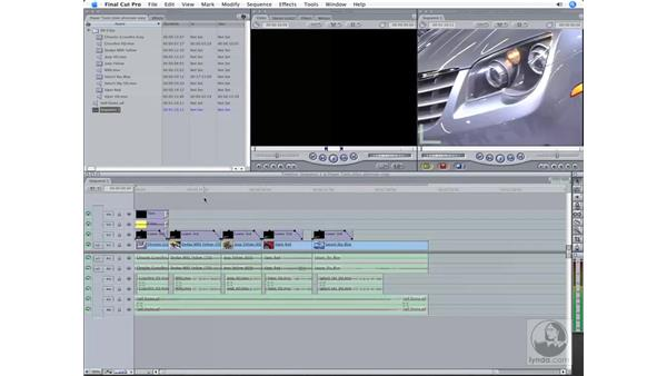 Outputting to tape: Final Cut Pro 6 Workflow