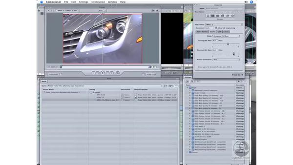 Exporting to DVD, an iPod, or the web : Final Cut Pro 6 Workflow