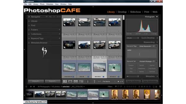 Working efficiently with metadata: Lightroom 1.3 for Digital Photographers