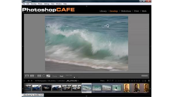 Cleaning lenses and sensors to remove dust: Lightroom 1.3 for Digital Photographers