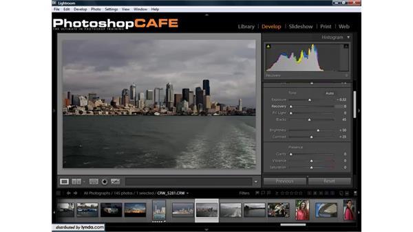 Understanding and using histograms: Lightroom 1.3 for Digital Photographers