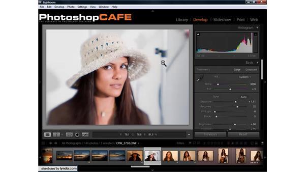 Special considerations for adjusting skin tones: Lightroom 1.3 for Digital Photographers
