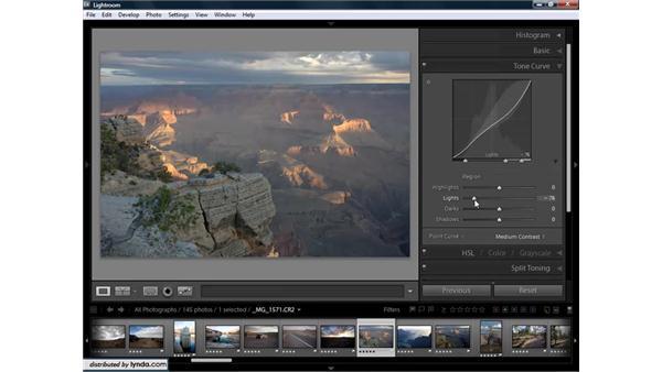 Using curves for targeted adjustments: Lightroom 1.3 for Digital Photographers