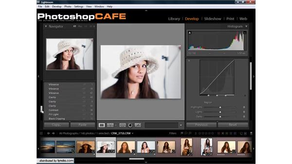 Using image history and snapshots: Lightroom 1.3 for Digital Photographers