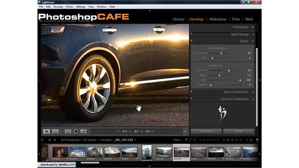Understanding and using the sharpening tools: Lightroom 1.3 for Digital Photographers