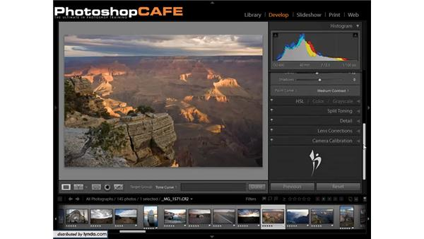 Overview of the correction tools: Lightroom 1.3 for Digital Photographers