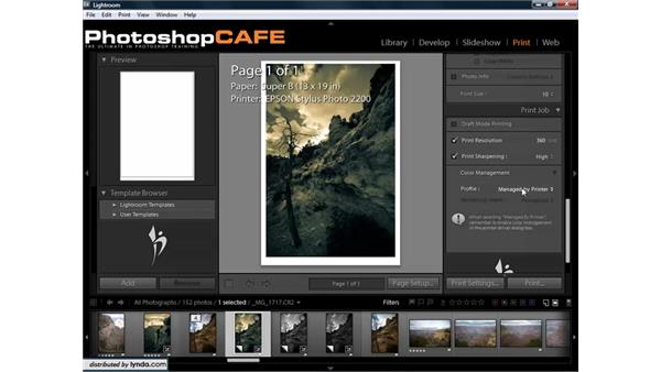Getting accurate colors for prints: Lightroom 1.3 for Digital Photographers