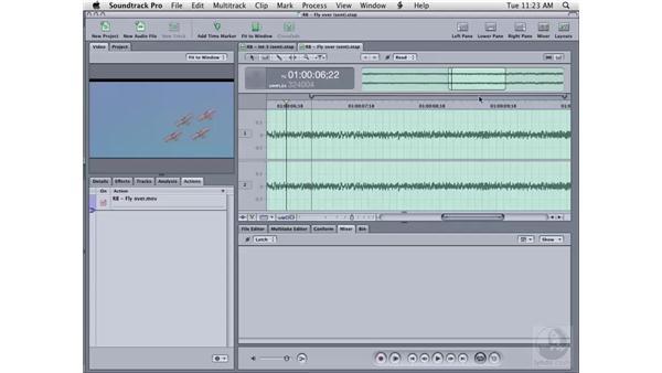 More sending options: Soundtrack Pro 2 Essential Training