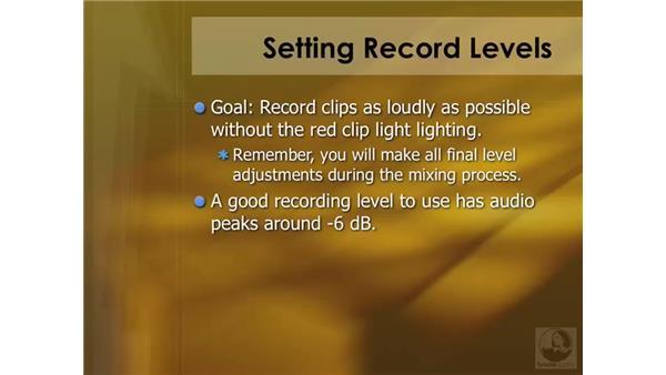 Audio recording overview: Soundtrack Pro 2 Essential Training
