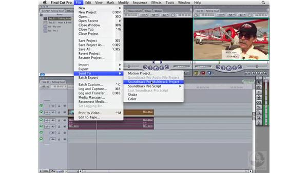 Creating markers: Soundtrack Pro 2 Essential Training