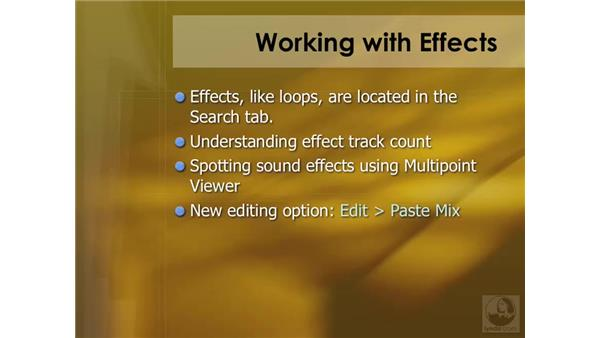 Effects overview: Soundtrack Pro 2 Essential Training