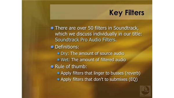 Filter overview: Soundtrack Pro 2 Essential Training