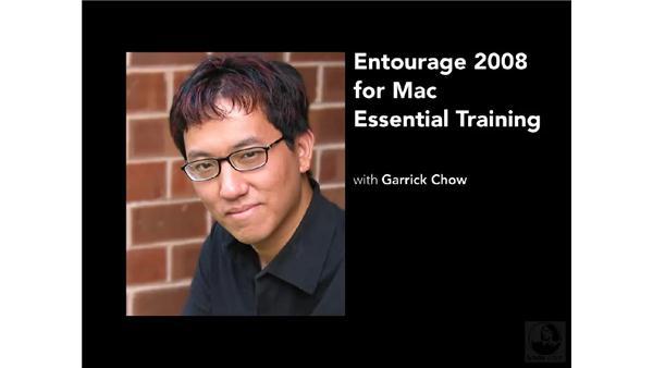 Goodbye: Entourage 2008 for Mac Essential Training