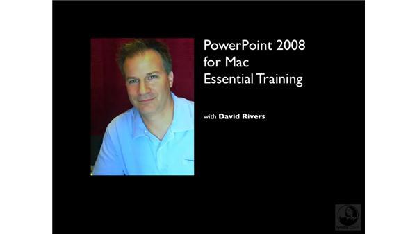 Goodbye: PowerPoint 2008 for Mac Essential Training