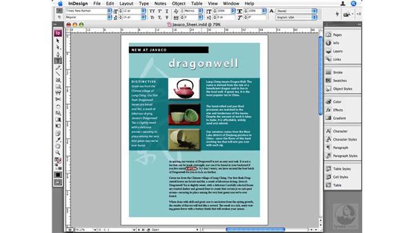 Quick Apply shortcuts: InDesign CS3 Beyond the Basics