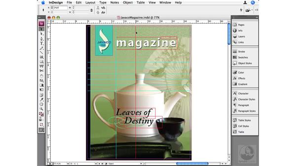 Formatting and positioning guides: InDesign CS3 Beyond the Basics