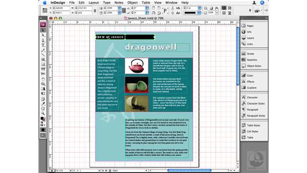 Using the document grid: InDesign CS3 Beyond the Basics