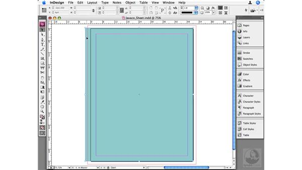 Extending into the bleeds: InDesign CS3 Beyond the Basics