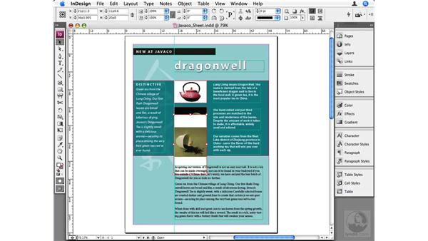 Scaling objects to a specific size: InDesign CS3 Beyond the Basics