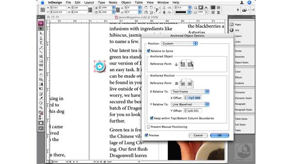 Advanced Anchored Objects: InDesign CS3 Beyond the Basics