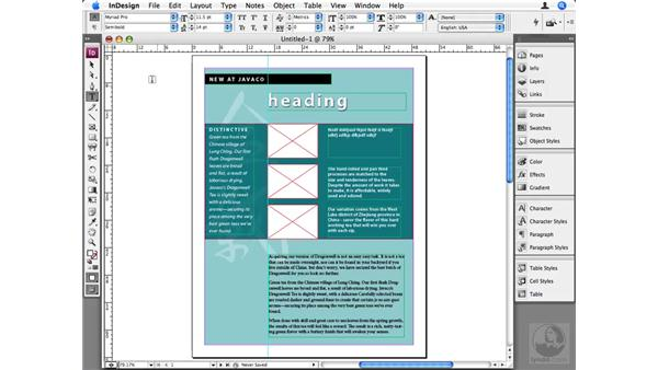 Creating and using templates: InDesign CS3 Beyond the Basics