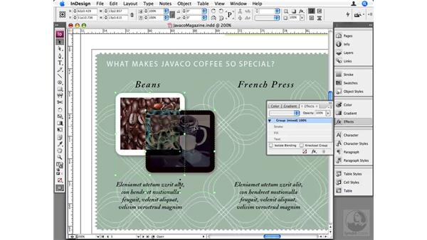Isolate Blending and Knockout Group: InDesign CS3 Beyond the Basics