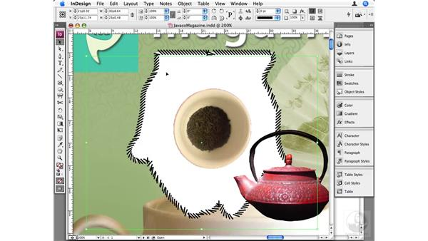Advanced image transparency: InDesign CS3 Beyond the Basics