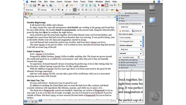 Linking to text files on disc: InDesign CS3 Beyond the Basics