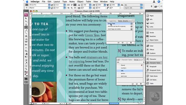Hyperlinks: InDesign CS3 Beyond the Basics