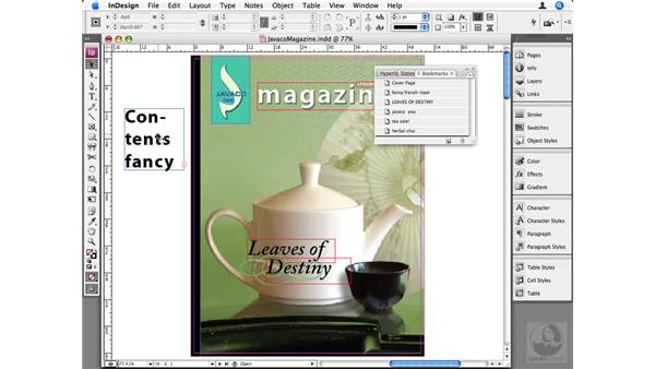 Bookmarks: InDesign CS3 Beyond the Basics