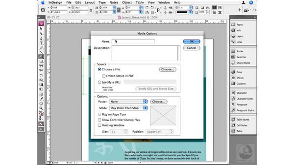 Movies: InDesign CS3 Beyond the Basics