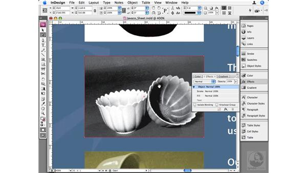 Working with duotones: InDesign CS3 Beyond the Basics