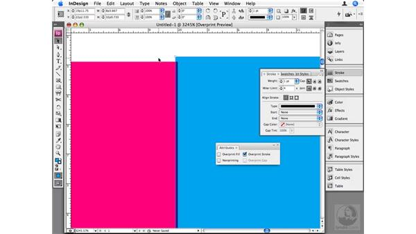 Trapping color: InDesign CS3 Beyond the Basics