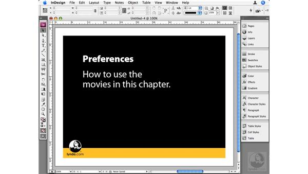 How to use this chapter: InDesign CS3 Beyond the Basics