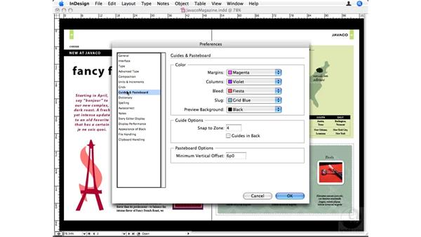 Guides & Pasteboard preferences: InDesign CS3 Beyond the Basics