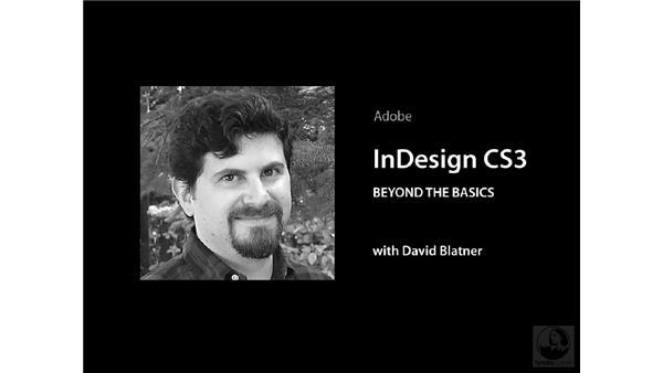 Goodbye: InDesign CS3 Beyond the Basics