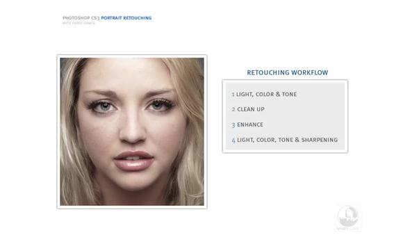 Retouching workflow strategies: Photoshop CS3 Portrait Retouching Essentials