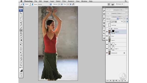 Flamenco project pt. 2: Shape and height: Photoshop CS3 Portrait Retouching Essentials