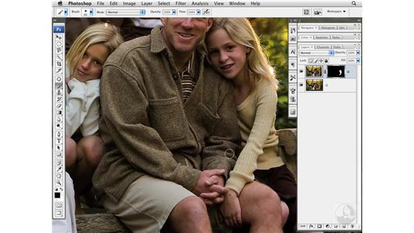 Combining multiple images: Photoshop CS3 Portrait Retouching Essentials